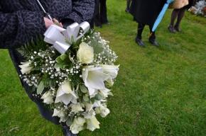 hautajaiskimppu